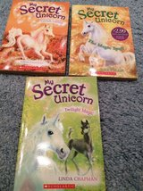 My Secret Unicorn three books in Bolingbrook, Illinois