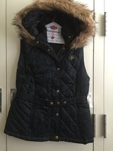 South Pole Hooded Vest in Okinawa, Japan