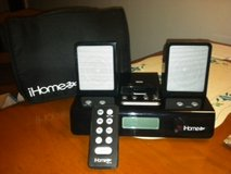 IHOME290 PORTABLE TRAVEL ALARM CLOCK FOR IPOD in Cherry Point, North Carolina