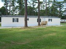Very nice mobile home 6 minutes from back gate in Camp Lejeune, North Carolina