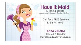 Have It Maid Cleaning Service in Houston, Texas