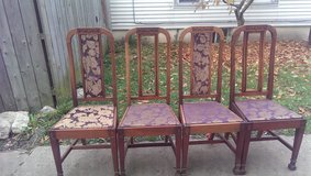 4 beautiful chairs great conditions! in Naperville, Illinois