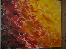 """Abstract Fire""  in Acrylic in Beaufort, South Carolina"