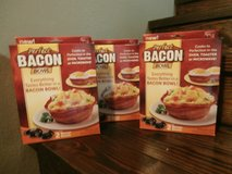 3 sets of bacon bowls in Cleveland, Texas