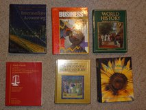 large collection of text books in Tomball, Texas