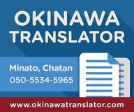 Okinawa Translator, Japanese Translation and Interpreter Services in Okinawa, Japan