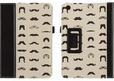 Leather & Canvas Griffin Mustache / Mustachio Smart Cover Case Stand Folio in Kingwood, Texas
