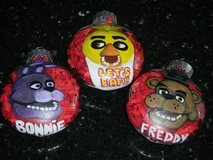 Custom Painted Character Christmas Balls Ornaments in Kingwood, Texas