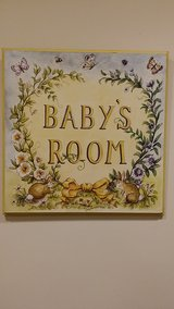 Baby's Room Wall Decor in Naperville, Illinois