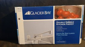 Glacier Bay 2-Handle Non Metallic Kitchen Faucet (Chrome) (T=15) in Clarksville, Tennessee