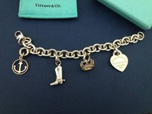 Tiffany charm bracelet & locket in Travis AFB, California