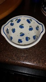 Berry Pattern Polish Pottery Bowl in Clarksville, Tennessee