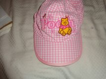 Winnie the Pooh pink striped hat in Fort Bragg, North Carolina