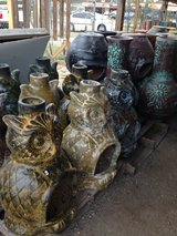 Metal Ornamentals, Caly Pots, Chimeneas in Houston, Texas