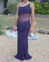 pageant/prom gown, purple in Barstow, California