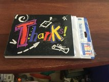 New pack of thank you cards with envelopes in Batavia, Illinois
