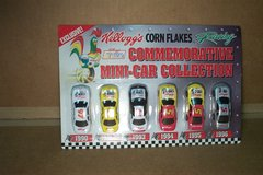 KELLOGG'S 75TH COMMEMORITIVE MINI-CAR COLLECTION in Bartlett, Illinois