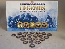 """Chicago Bears """"Legends"""" Medallions in Glendale Heights, Illinois"""