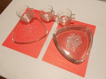 Holiday Treat Dishes with Matching Cups in Joliet, Illinois