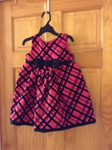 Pink & Black Holiday Dress (24M) in Beaufort, South Carolina