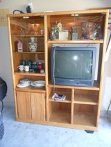 Two Piece Entertainment Center in Kingwood, Texas