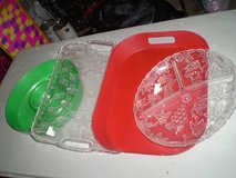 4 Serving Trays/Platters (plastic) in Houston, Texas