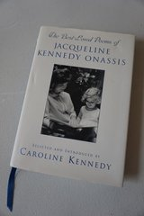 The Best-Loved Poems of Jacqueline Kennedy Onassis by Caroline Kennedy in Bolingbrook, Illinois