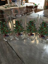 4 Christmas Tree Glasses in Clarksville, Tennessee