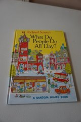 What Do People Do All Day by Richard Scarry (Random House Book) in Aurora, Illinois