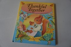 Hardcover Thankful Together by Holly Davis in Aurora, Illinois