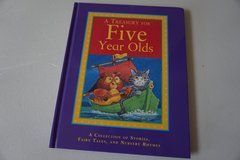 Hardcover-A Treasury for Five Year Olds-A Collection of Stories, Fairy Tales, and Nursery Rhymes in Joliet, Illinois