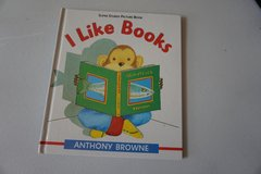 I Like Books by Anthony Browne Hardcover in Aurora, Illinois