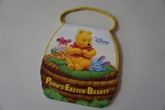 Disney Winnie The Pooh's Easter Basket Board Book in Lockport, Illinois