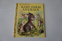 Baby Farm Animals, A Little Golden Book Classic Hardcover in Aurora, Illinois