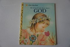My Little Golden Book About GOD Hardcover Book in Joliet, Illinois