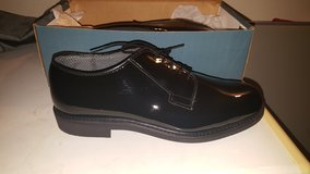 Black Navy Coraframe shoes in Lake Elsinore, California