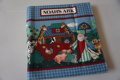 Noah's Ark Fabric Book in Joliet, Illinois