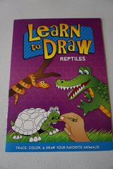Learn To Draw Reptiles Activity Book in Bolingbrook, Illinois