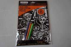 Velvet Coloring Halloween Poster in Bolingbrook, Illinois