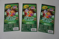 20 page Dora Coloring Pad in Bolingbrook, Illinois
