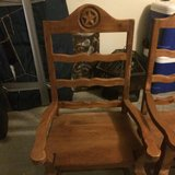 2 hand tooled mexican captains chairs in Kingwood, Texas