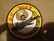 "Fabric Patch, B17 ""Sally B"" Memorial Flight in Lakenheath, UK"