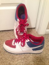 RED WHITE AND BLUE AF-1 82 in Fort Riley, Kansas