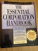 The Essential Corporation Handbook 2nd Edition in Wheaton, Illinois