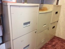 Two drawer file cabinets $20 for all 3 in Warner Robins, Georgia