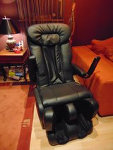 Massage Chair Sanyo black in Spangdahlem, Germany