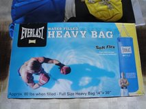 EVERLAST  H2O Heavy Bag (Water Filled Soft Flex) full sized  80 lbs when filled. in Okinawa, Japan