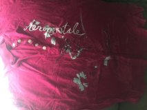 Aeropostale size large red/pink short sleeve shirt in Camp Lejeune, North Carolina