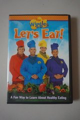 The Wiggles Let's Eat! DVD Movie in Plainfield, Illinois