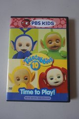 PBS Kids Teletubbies 10 Time To Play DVD Movie in Plainfield, Illinois